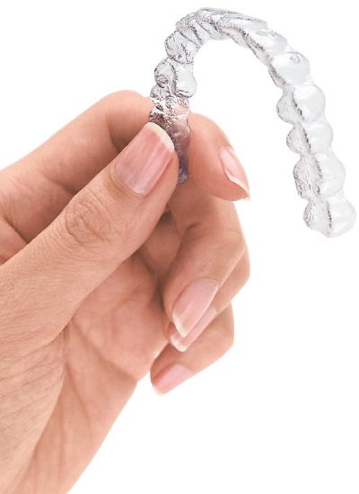 歯を気にする女性