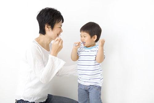 3歳までのお子様の歯